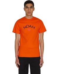Noah Core Logo T-shirt - Orange