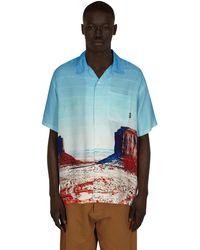 Neighborhood Ootd Shortsleeve Shirt - Blue