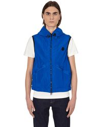 Moncler Touques Vest Blue S