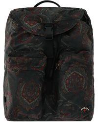 Barbour Noah Waxed Beaufort Backpack - Black