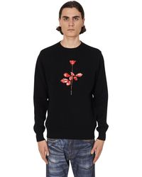 Noah Depeche Mode Violator Rose Shetland Sweater Black M