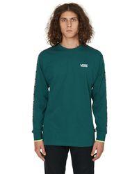 Vans Reflective Colorblock Long Sleeves T-shirt Green Xl