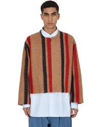 Hed Mayner Collarless Jacket - Multicolor