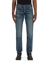 RRL by RALPH LAUREN Slim Fit 5-pocket Denim Trousers - Blue