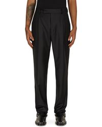 Wacko Maria Pleated Pants (type-2) Black S
