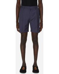 Wacko Maria Pleated Chino Shorts (type-1) Purple M