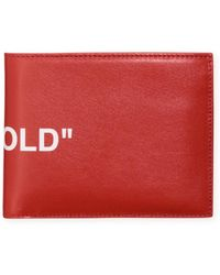 Off-White c/o Virgil Abloh - Quote Bi-fold Wallet - Lyst