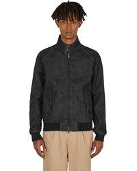 Baracuta G9 Harrington Jacket Denim L - Black