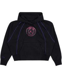 Nike Paris Saint-germain Hooded Sweatshirt - Black