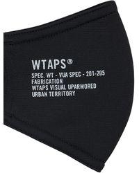 WTAPS Pvi Mask - Black