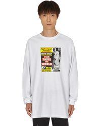 Pleasures Gossip Longsleeve T-shirt - White