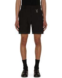 "1017 ALYX 9SM ""a"" Tailoring Shorts Black Xs"