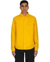 Nike Flannel Skate Shirt University Gold S - Yellow
