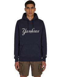 AWAKE NY New Era X Mlb Subway Series New York Yankees Hooded Sweatshirt Blue M