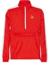 PUMA Bboy Track Jacket Flame Scarlet S - Red