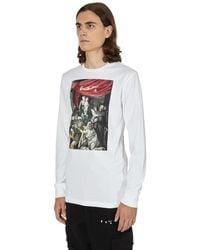 Off-White c/o Virgil Abloh Caravaggio Painting Longsleeve T-shirt - White