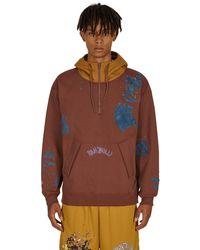 Converse Bandulu Hooded Sweatshirt Cappuccino S - Brown