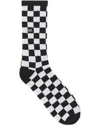 Vans - Checkerboard Crew Socks - Lyst