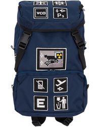 Cav Empt Patched Backpack - Blue