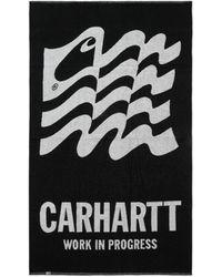 Carhartt WIP Wavy State Towel Black / White U