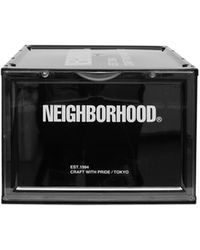 Neighborhood Ci Sneaker Storage Case - Black