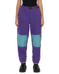 Stussy Wmns Summit Polar Fleece Pants - Purple