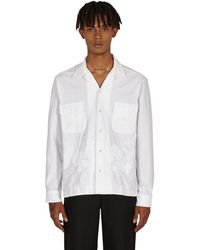 Bode One Of A Kind Lace Cutwork Shirt - White