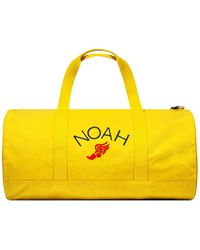 Barbour Noah Wax Holdall - Yellow