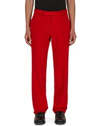 Phipps Tycoon Trousers - Red