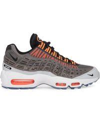 Nike Kim Jones Air Max 95 Sneakers Black/total Orange 36 - Multicolor