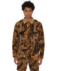 Neighborhood Military Pack Vest - Brown