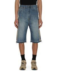 Kapital Denim Bone Shorts Pro 34 - Blue