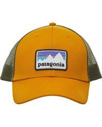 Patagonia - Shop Sticker Patch Lopro Trucker Hat - Lyst