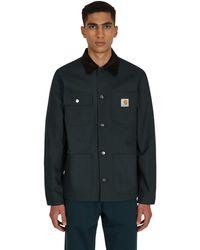 Carhartt WIP Michigan Coat Frasier / Black Rigid S