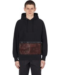 Flagstuff Slam Jam Hooded Sweatshirt - Black