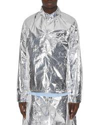 OAMC Houston Silver Jacket Silver M - Metallic