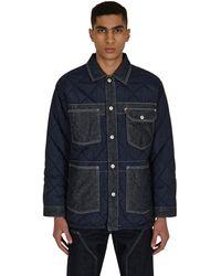 Levi's Redtm Quilt Reversible Chore Coat Navy S - Blue
