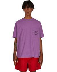 Bode Horseshoe Pocket T-shirt Purple S