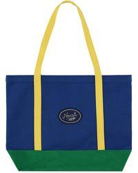 Noah Colorblocked Tote Bag - Blue