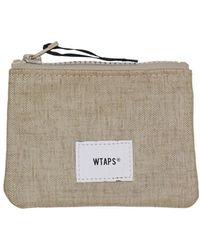 WTAPS Cream Wallet - Multicolor
