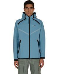 Nike Tech Pack Hooded Zip-up Sweatshirt - Blue