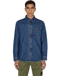 A.P.C. Cyril Denim Overshirt - Blue