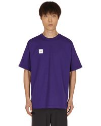 WTAPS Home Base T-shirt - Purple