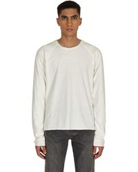 Kapital Jersey X Gauze Jersey Chef Smilie Patch Longsleeve T-shirt - White