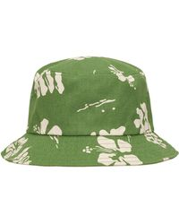Vans Og Hibiscus Bucket Hat - Green