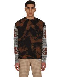 Rassvet (PACCBET) Bleached Crewneck Sweatshirt Black S