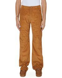 Telfar 3-panel Corduroy Trousers - Brown
