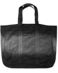 Stussy - Bleach Stripe Tote Bag - Lyst
