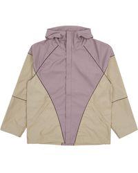 Paria Farzaneh Diamond Jacket - Purple