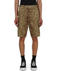 WTAPS Jungle 01 Twill Shorts Beige S - Natural
